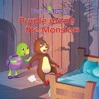 """Use story to discuss children's common fears. Purple Turtle Ebook.Beautiful illustrations! Purple Turtle Books(EBOOKS) .In """" Purple Befriends Monsters"""",Biggy invites Purple for a sleepover. When night-time comes,monsters come out frightening Biggy. How will Purple come to the rescue? Grades 1-3,19 Pages,Aadarsh Publishing. http://www.teacherspayteachers.com/Product/Purple-Turtle-Stories-Purple-Befriends-MonstersEBOOK-852673  $3.00"""