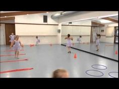 Particularly popular was the 'Obstacle Course' Warm Up with the 5 and 6 year olds
