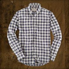 Plaid Oxford Sport Shirt - Denim & Supply  Standard-Fit - RalphLauren.com