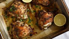 Spicy jerk chicken