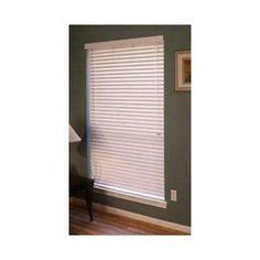 "Fauxwood Impressions Venetian Blind Size: 39.5"" W x 78"" L"
