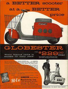 1959 Globester Scooter Advert via Flickr