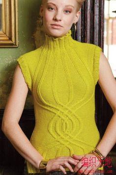 Вязание для женщин спицами. Схемы вязания спицами - Страница 6