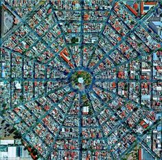 This shot of Mexico City from a satellite