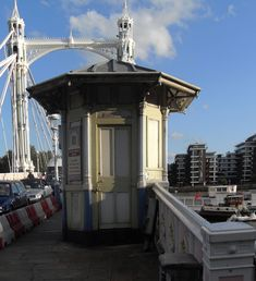 Albert Bridge was once a toll bridge across the River Thames, and was under the jurisdiction of The Albert Bridge Company, whom were respons...