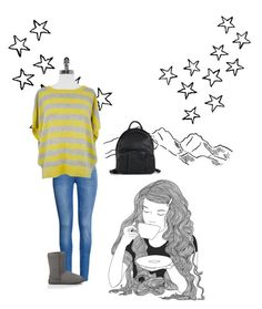 """""""All the Stars"""" by theabreen39sassy ❤ liked on Polyvore featuring H&M, Christopher Fischer, UGG Australia, Alexander Wang and GE"""