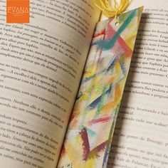 No Fear  Handpainted Bookmark