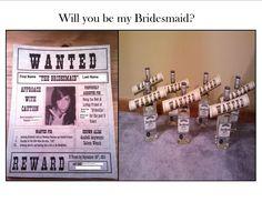 My bridesmaid invite