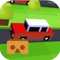 All you have to do is to Cross the Highway... if you can! #VR Crossy Road is a cool game by VRMob.co so, just enjoy it! #virtualreality #vrcontent http://www.vrcreed.com/apps/vr-crossy/