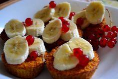 #babeczki #paleo #śniadanie #breakfast #carrots #marchew #cupcakes #banan Babeczki z marchwi bez mąki