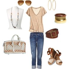 Love the outfit..love the sunglasses, the bag& jewels..just gorg.