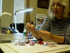"""YouTube how to make 18"""" doll shoes by Scoresheet1, Diane Morello. She has over 286 how to videos for Journey Girl and American Girl clothes, shoes, boots, gowns, underwear, cami, pj's, leotards, gown, dresses, coats, vests and more."""