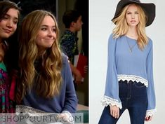 Girl Meets World: Season 2 Episode 17 Maya's Blue Lace Top