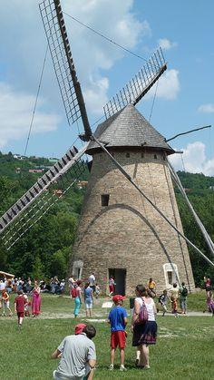 Szentendre, Windmill, Open Air museum by szilviaszabo91, via Flickr