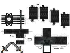 http://pixelpapercraft.com/papercraft/50498d07eb1b97f54a000008/wither-skeleton