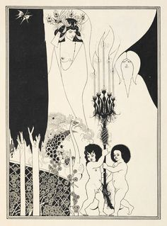 Aubrey Beardsley illustrations for Salome by Oscar Wilde - The British Library