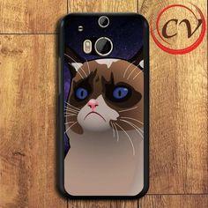 Grumpy Cat HTC One M8 Black Case