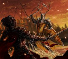 The Battle of the Trident by Susacre