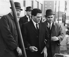 John 'Sonny' Franzese, powerful mob boss who hung out with Frank Sinatra, dies at 103 Real Gangster, Mafia Gangster, Colombo Crime Family, Mob Wives, Born Again Christian, Sammy Davis Jr, New York Daily News, Tough Guy, Hanging Out