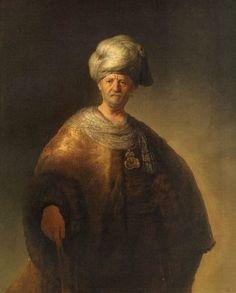 Le noble slave, par Rembrandt van Rijn