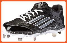 adidas Performance pour Femme PowerAlley 2W Softball Taquet - Noir - Black/Carbon/White EgMlP6XyB,