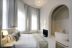 Arena Hotel Amsterdam - pretty cool.. Suites are awesome!