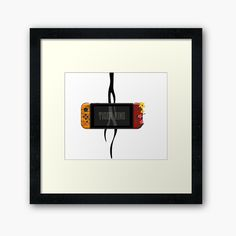 'Nintendo Switch Tiger King Edition' Framed Print by SinandTonic Buy Nintendo Switch, Off Colour, Box Frames, Framed Art Prints, Print Design, My Arts, King, Printed, Awesome