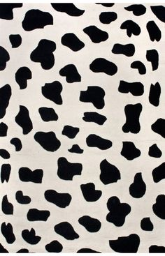 Serendipity Cow Print Rug So Cute For Baby Room