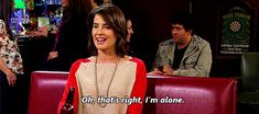 Robin Scherbatsky gets it.