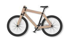 Sandwichbike  a flat-packed wooden bicycle delivered to your door for self assembly - from Dutch designers Bleigh Industrial Design http://www.sandwichbikes.com
