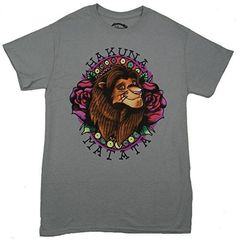 The Lion King Simba Hakuna Matata Tattoo T-shirt