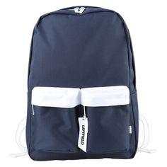 LEFTFIELD Mens School Bag - S. Korea College Book Bag for Women, Front 2 zip pockets, 15 inch Laptop Compartment, Top handle strap, Adjustable shoulder strap Backpack Store, Laptop Backpack, College Book Bag, Branded Bags, School Bags, Shoulder Strap, Korea, Handle, Backpacks