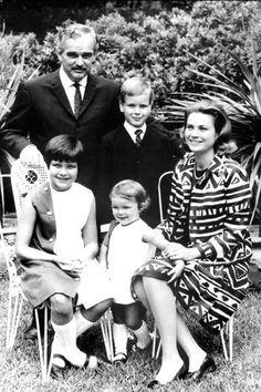 Prince Rainer, Princess Grace and family!