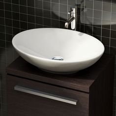 This Stunning Shallow Sided Oval Bathroom Basin Is An Ultra Modern Product That Has Been