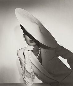 "#FashionPhotographer  Horst P. Horst  ""Study in Ivory""  Advertisement for Saks  1982"