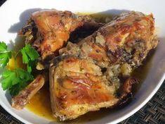Conejo a las finas hierbas Ana Sevilla cocina tradicional