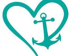 Silhouette Cameo Projects, Silhouette Design, Anchor Silhouette, Vinyl Crafts, Vinyl Projects, Car Decals, Vinyl Decals, Wall Vinyl, Wall Stickers