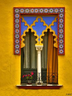 Beautiful window, Cordoba, Spain
