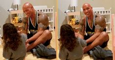 """Hold on to your ovaries, the cuteness dial is set to maximum Name one thing cuter than a parent bonding with their child. We'll wait. Dwayne """"the Rock"""" Johnson displayed his mad parenting skills Thursday when he uploaded a cute video of playtime with his 2-½-year-old daughter, Tiana Gia. In the video, the jacked star […] The post Dwayne Johnson Shares One Of His Sweet 'Lil Quiet Moments' With Daughter, Tiana appeared first on Scary Mommy."""