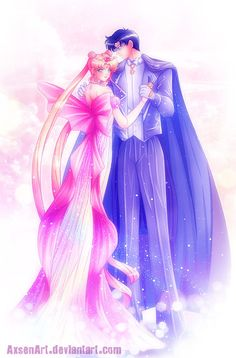 girlsbydaylight:  Sailor Moon 30th Century by AxsenArt