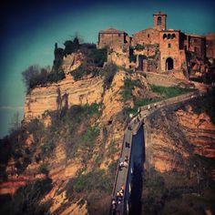 """@ilaria_agostini's photo: """"Civita di #bagnoregio , #viterbo , #italy"""""""
