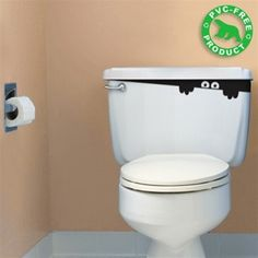 fun for a kids bathroom toilet.. something a little extra :)