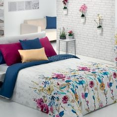 Funda Nórdica SALMA Cañete King Duvet Cover Sets, King Comforter Sets, Duvet Sets, Designer Bed Sheets, French Country Bedding, Indoor Outdoor Furniture, Bed Table, Home And Deco, Bed Styling