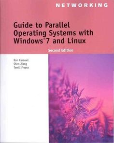 Free download e book of os concepts from mediafire link books guide to parallel operating systems with windows 7 and linux networking a book by ron carswell shen jiang terrill freese fandeluxe Image collections