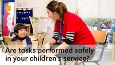 Are tasks performed safely at your service?
