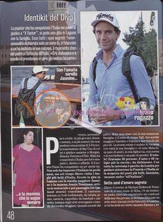 """Mika """"Un Turista A Venezia Mi(k)a Male"""" - Diva e Donna magazine - Nov 19 2013 - Italian - page 2 of 3"""