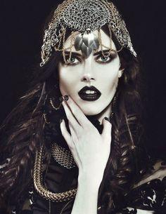 Dark Fashion, Gothic Fashion, Fashion Vintage, High Fashion, Women's Fashion, Gothic Accessories, Fashion Accessories, Hair Accessories, Headdress