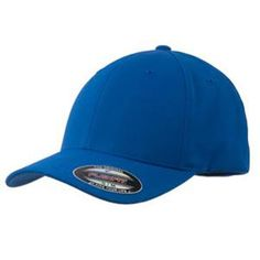 Sport-Tek Flexfit Performance Solid Cap, True Royal - Extra Small, Men's, Size: XS, As Shown Custom Embroidery, Get Dressed, Cotton Spandex, All In One, Active Wear, Baseball Hats, Cap, Sports, How To Wear