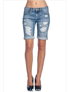 """Our perfect bermuda shorts are our favorite """"mom in mind"""" modest short for the summer .... why you ask?? Because they have a glorious stretch to them!! The color is perfect with shadows in all the rig"""