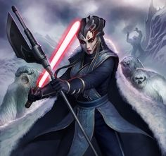 Kyrisa was a Nightsister who was banished by her clan following a fierce battle for leadership. A member of the Nightsisters clan of the Dathomiri Witches, Kyrisa developed exceptional skill in controlling the minds of the local beasts, such as the enormous Dathomiri rancors. Her achievements were noted both by the Clan mother Gethzerion, who saw promise in Kyrisa, and by the Dark Jedi Namman Cha, servant to the Emperor Palpatine. While on a mission on Dathomir, Namman had sensed that…